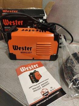 Сварочные аппараты - Инвертор сварочный  Wester MINI220T , 0