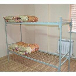 Кровати - Кровати для строителей, металлические, надежные, 0