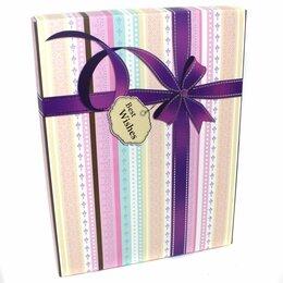 Новогодний декор и аксессуары - 527  Коробка для подарков Best Wishes    27*20.5*6.8, 0
