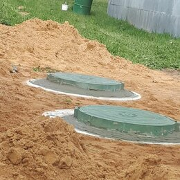 Железобетонные изделия - Септик из бетонных колец , 0