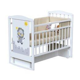 Матрасы и наматрасники - Кровать детская DREAM - HAPPY LION  поперечный маятник (Bianco), 0