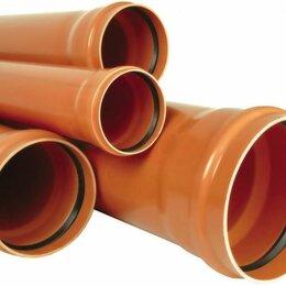 Водопроводные трубы и фитинги - Труба НПВХ SN4 110*3,2*1000 НК, 0