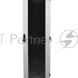 Прочее сетевое оборудование - Шкаф телекоммуникационный напольный 38u  600x600  дверь стекло, 0
