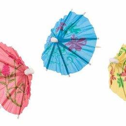 Зонты и трости - Зонтик 15см в упаковке по 100 шт/50, 0