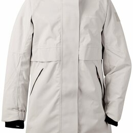 Куртки и пуховики - Куртка подростковая Didriksons THEA GS PARKA, алюминий, 502620 (Размер: 140 ), 0