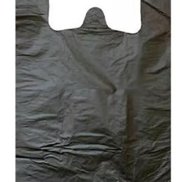 Упаковочные материалы - Пакет-майка ПМ30х54ПНД черный, 0