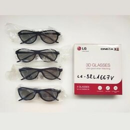 3D-очки - 3D-очки LG AG-F310 (б/у), 0