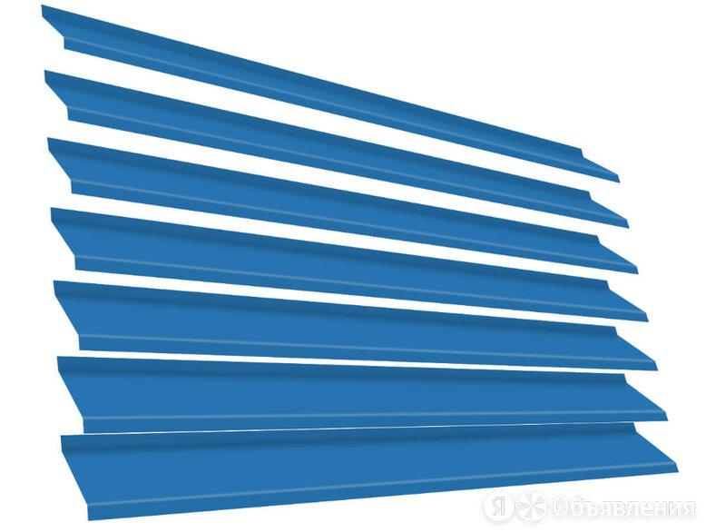 Ламель Жалюзи ЭКО-Z RAL5015 Небесно-Голубой металлическая по цене 113₽ - Заборы, ворота и элементы, фото 0