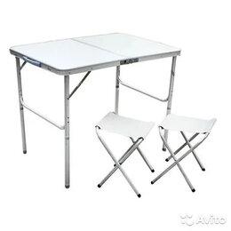 Походная мебель - Столик складной с 2 стульями, 0