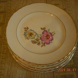 Тарелки - Комплект  тарелок из Франции., 0