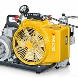 Воздушные компрессоры - Компрессор PE 100-TE, 100 л/мин, 200 бар, электропривод 3x380 В, 2,2 кВт, 0