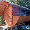 Баня-бочка Лада 4 метра 2 секции в Курске по цене 195500₽ - Готовые строения, фото 2