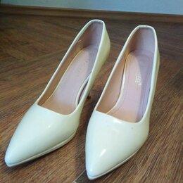 Туфли - Белые туфли классика, 0