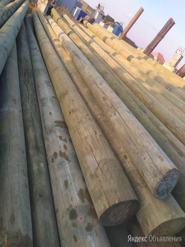 Столбы деревянные по цене 8000₽ - Пиломатериалы, фото 0