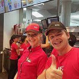 Официанты - сотрудник ресторана KFC, 0