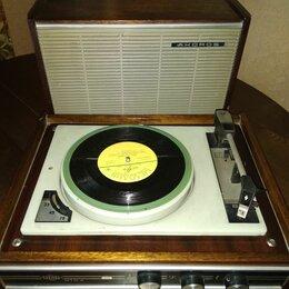 Проигрыватели виниловых дисков - Проигрыватель виниловых пластинок рига 001, 0