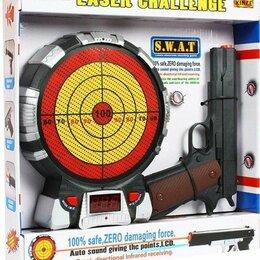 """Игрушечное оружие и бластеры - Игровой набор """"Лазерный пистолет и мишень с указанием баллов"""" , 0"""