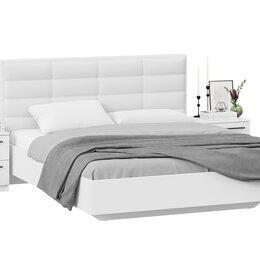 Кровати - Спальный гарнитур «Агата» стандартный без шкафа, 0