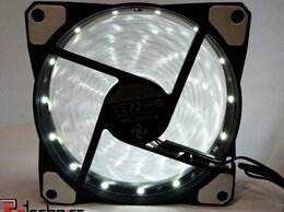 Кулеры и системы охлаждения - Вентилятор B.J 12025 FAN RGB 120мм черный 12В 0.37, 0