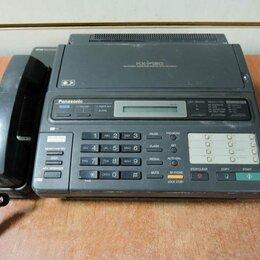Системные телефоны - Факс Panasonic KX-F130BX, 0