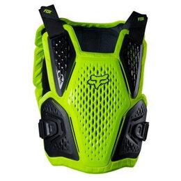 Спортивная защита - Защита панцирь FOX Raceframe Impact 2020г. (L/XL / желтый/L), 0