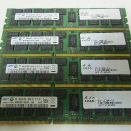 Модули памяти - Samsung DDR3 16Gb 4x4GB Ecc Reg Cерверная память, 0