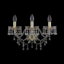 Бра и настенные светильники - Бра Bohemia Ivele 1410B/3/195/XL G V0300, 0
