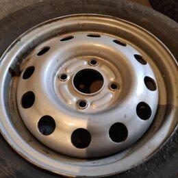 Шины, диски и комплектующие - Штампованные диски и резина r14, 0