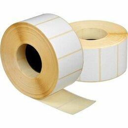 Расходные материалы - Этикетка (50*25/5000) Полуглянец в ролике втулка…, 0