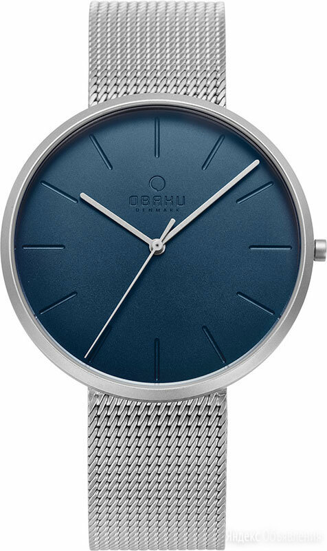 Наручные часы Obaku V219GXCLMC по цене 5100₽ - Наручные часы, фото 0