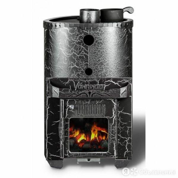 Дровяная печь для бани Ферингер Малютка - Телескоп по цене 28350₽ - Камины и печи, фото 0