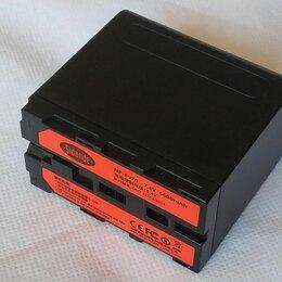 Аккумуляторы и зарядные устройства - Аккумулятор Sidande NP-F970 6600mAh с разъемом USB, 0