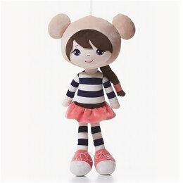 Мягкие игрушки - Левеня Игрушка-кукла мягкая маленькая Надин 32см, 0