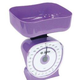 Кухонные весы - Весы бытовые настольные 5 кг delta кса-106 с чашей, 0