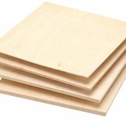 Древесно-плитные материалы - Фанера 10мм 1525х1525 мм сорт 2/4 , 0