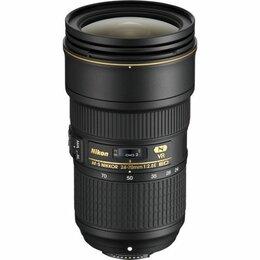Объективы - Объектив nikon 24-70mm f/2.8G ED VR af-s Nikkor, 0