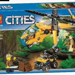 Автокресла - Конструктор Cities 10709 216 дет., 0