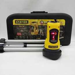 Измерительные инструменты и приборы - Лазерный уровень stayer, 0