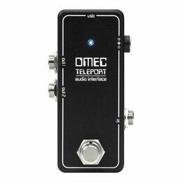 Процессоры и педали эффектов - Orange OMEC Teleport гитарная педаль аудиоинтерфейс для подключения компьютерных, 0