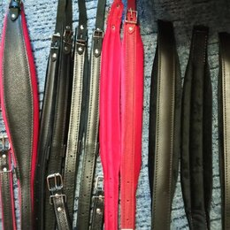 Аксессуары и комплектующие - Ремни на баян, аккордеон, гармонь. Кожа, отечественные, 0