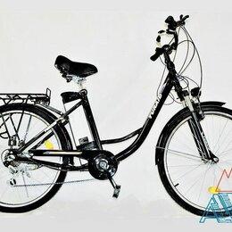 Мото- и электротранспорт - Электровелосипед IB-2E 250W дамский от поставщика, 0