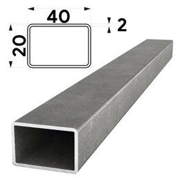 Металлопрокат - Труба профильная 40х20мм стенка 2мм длина 6 метров, 0