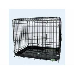 Транспортировка, переноски - N1 Клетка  для домашних животных,  две двери, эмаль  108*69*78, белая, 0