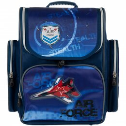 Рюкзаки, ранцы, сумки - Alliance Ранец для мальчика ALLIANCE САМОЛЕТ 27*36,5*12cм, 0