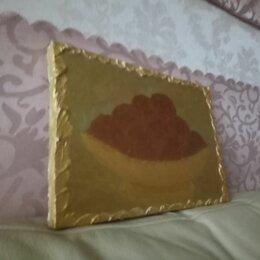 """Картины, постеры, гобелены, панно - Картина """" Мандарины в золотой вазе """"(двухсторонняя), 0"""