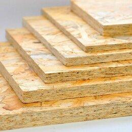 Древесно-плитные материалы - Плита osb-3 9х2500х1250мм кроношпан, 0