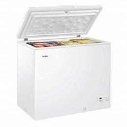 Морозильники - Морозильный ларь на 319 литров Haier HC E319R, 0