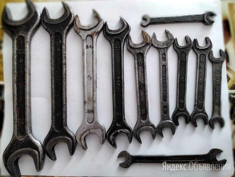 Рожковые ключи. по цене 1500₽ - Рожковые, накидные, комбинированные ключи, фото 0