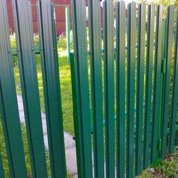 Заборчики, сетки и бордюрные ленты - Забор из штакетника / Штакетник / Евроштакетник, 0