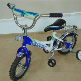 Велосипеды - Велосипед детский синего цвета , 0